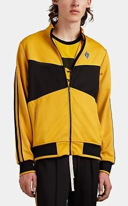 Ovadia & Sons Men's Betar Tech-Jersey Track Jacket - Yellow