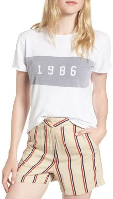 Women's Sincerely Jules 1986 Tee $69 thestylecure.com