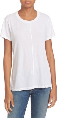 Women's Frame Cotton Tee Shirt $95 thestylecure.com