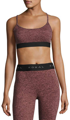 Koral Activewear Sweeper Versatility Performance Sports Bra