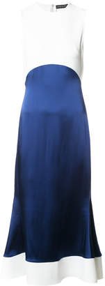 David Koma flounce dress