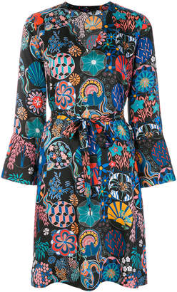 Paul Smith printed belted dress