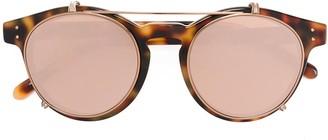 Linda Farrow tortoiseshell round sunglasses