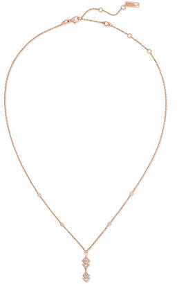 Messika - My Soul 18-karat Rose Gold Diamond Necklace