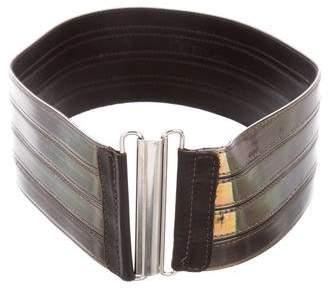 Alexander McQueen Iridescent Waist Belt