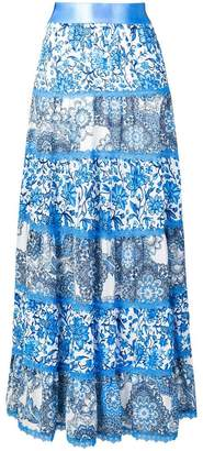 Alice + Olivia Alice+Olivia patterned maxi skirt
