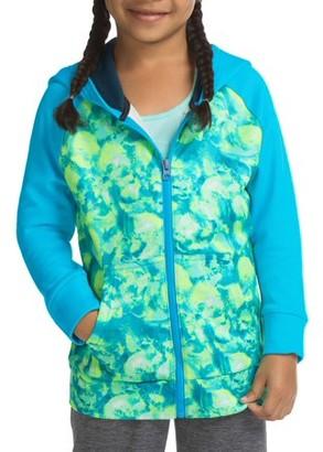 Hanes SPORT Girls' Tech Fleece Full Zip Hooded Jacket