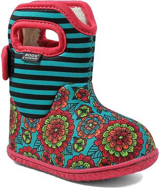 Bogs Baby Classic Pansies Washable Insulated Waterproof Boot