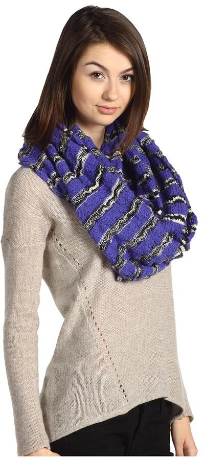 Missoni Renata Scarf (Purple) - Accessories