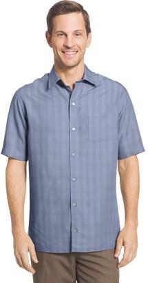 Van Heusen Big & Tall Classic-Fit Dobby Button-Down Shirt