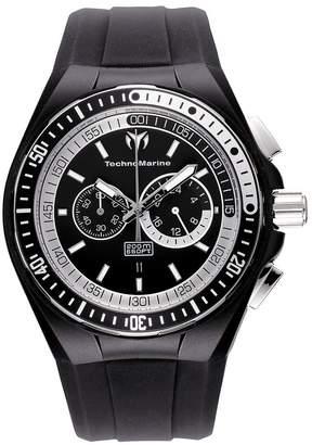 Technomarine Men's 110018 Cruise Sport Chronograph and White Dial Watch