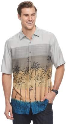 Men's Batik Bay Classic-Fit Tropical Palm Tree Button-Down Shirt