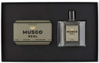 Musgo Real Gift Set (Soap on a Rope & Cologne) - Oak Moss