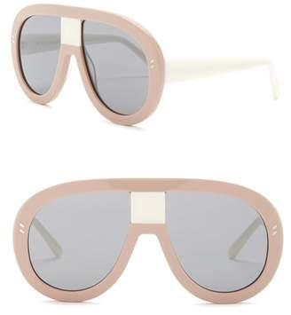 Stella McCartney 60mm Modified Aviator Sunglasses