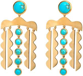 Asha Mustique Chandelier Drop Earrings