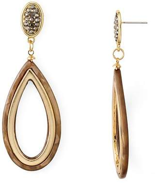 Aqua Two-Tone Teardrop Drop Earrings - 100% Exclusive