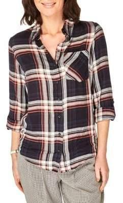 Dorothy Perkins Plaid Button-Down Shirt