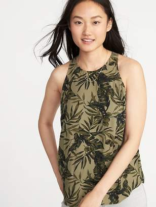 Old Navy Relaxed High-Neck Sleeveless Top for Women
