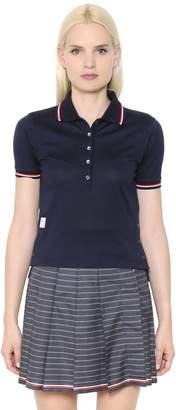 Thom Browne Cotton Piqué Polo Shirt