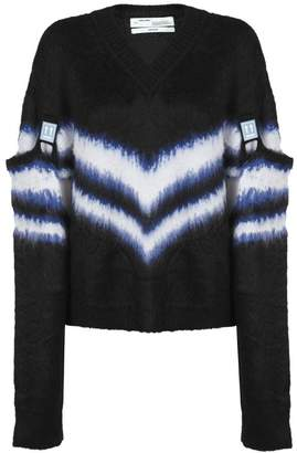 Off-White Detachable-sleeves Sweater