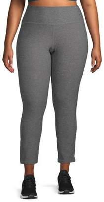 New York Laundry Women's Plus Size Active Tummy Control Legging