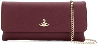 Vivienne Westwood Victoria flap closure clutch