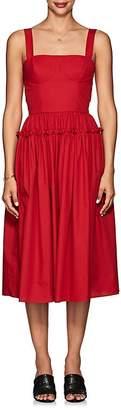 Barneys New York Women's Cotton Poplin Bustier Dress