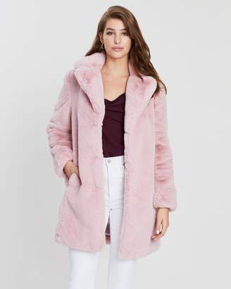 Dorothy Perkins Faux Fur Coat