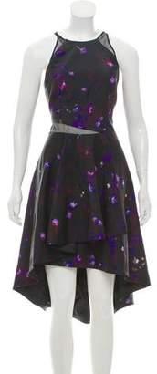 Nha Khanh Printed Silk-Blend Dress