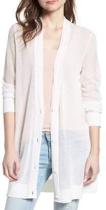 AG Jeans The Cameron Cotton & Cashmere Cardigan