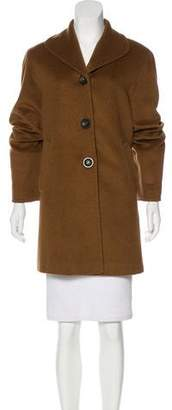 Cinzia Rocca Wool & Angora-Blend Jacket