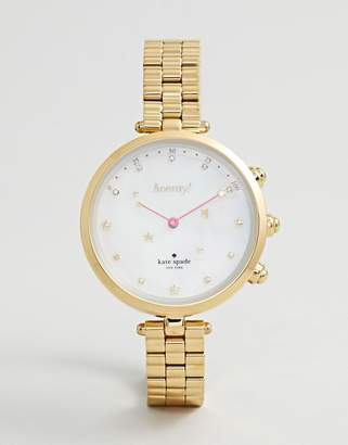 Kate Spade Women's Holland Hybrid Stainless Steel Watch