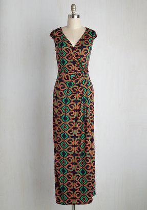 Gilli Inc Puttin' on the Rex Maxi Dress in Kaleidoscope $69.99 thestylecure.com