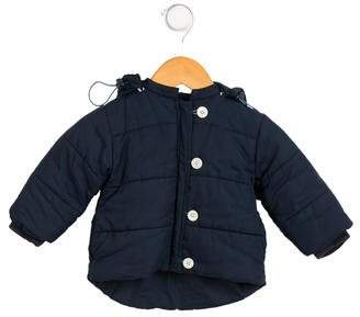 Baby CZ Boys' Hooded Puffer Coat