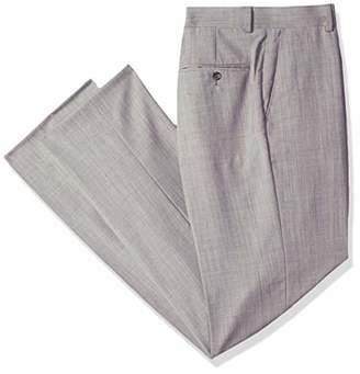 Palm Beach Men's Phillip Flat Front Dress Pant