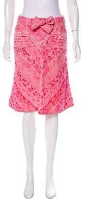 Douglas Hannant Knee-Length Tweed Skirt