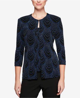 Alex Evenings Embellished Jacket & Shell