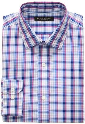 Banana Republic Grant Slim-Fit SUPIMA® Cotton Check Shirt