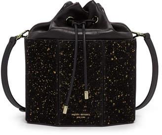 Henri Bendel Drawstring Suede Mini Bag