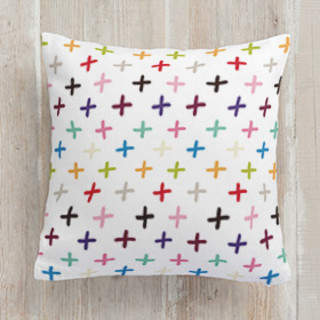 Cross the Rainbow Square Pillow