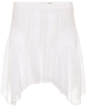 Etoile Isabel Marant Isabel Marant, étoile Akala embroidered cotton skirt