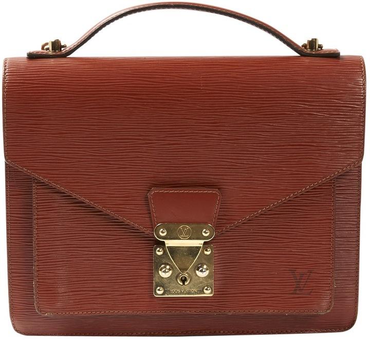 Louis VuittonMonceau leather satchel