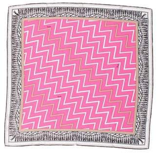 Emilio Pucci Silk Printed Scarf w/ Tags