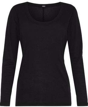 Monrow Cotton And Modal-Blend Jersey Top