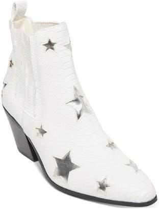 Betsey Johnson Izak Star Western Booties Women Shoes
