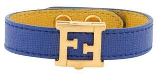 Fendi Leather Crayon Wrap Bracelet