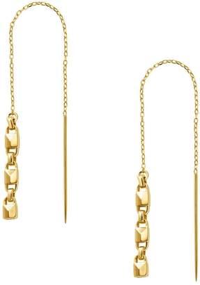 Michael Kors Mercer Padlock Threader Earrings