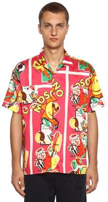 Moschino Ice Cream Printed Short Sleeve Shirt