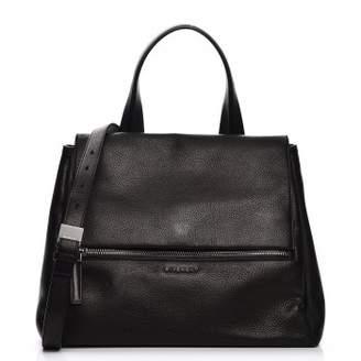 Givenchy Pandora Flap Waxy Grained Calfskin Medium Black