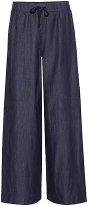 Max Mara S Laveno wide-leg cotton pants